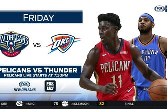New Orleans Pelicans at OKC Thunder preview | Pelicans Live
