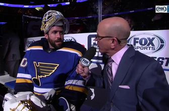 Hutton on barely missing shutout: 'They get one…I'll take that every night'