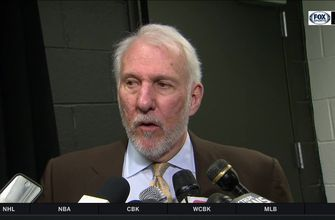 Gregg Popovich: 'This is what Manu does'