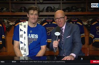Bouwmeester on the upcoming Blues Dad's Trip: 'It's so much fun to see them having fun'