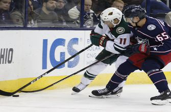 Wild get rare road win, top Blue Jackets 3-2 in shootout