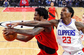 Griffin gone, Clippers lose to Trail Blazers 104-96 (Jan 30, 2018)
