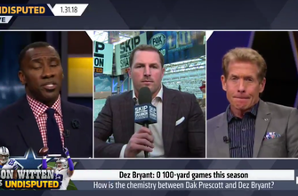 Jason Witten on Undisputed: 'Dez Bryant can make big-time plays'