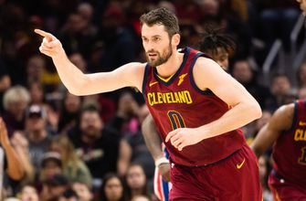 Love lost: All-Star forward's broken hand a pain for Cavs