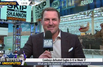 Cowboys Witten thinks the Philadelphia Eagles have a good chance at beating the Patriots