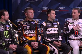 The drivers of Stewart-Haas Racing break down where they stand among other Cup teams