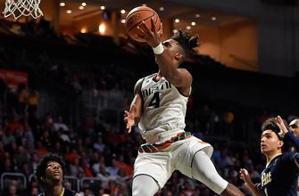 Miami recovers after blowing lead to down reeling Pittsburgh