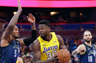 Marreese Speights drops in 21, Magic dismantle Lakers in return home