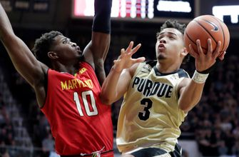 Purdue keeps rolling, beats Maryland for 18th straight win