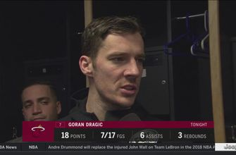 Goran Dragic: We needed one shot to go in or one defensive stop