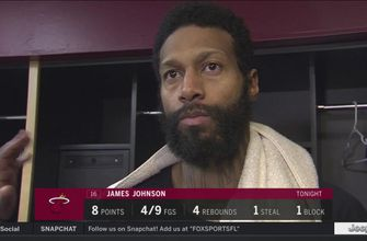 James Johnson explains what happened on game's final play