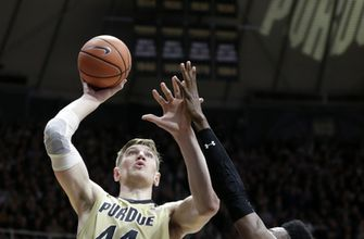 No. 3 Purdue gets past  Maryland for 18th consecutive win (Jan 31, 2018)