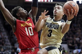 No. 3 Purdue improves to 11-0 in Big Ten play with 75-67 win over Maryland