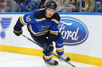 The Blues and their dads head to Boston for matchup with Bruins
