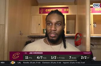 Jae Crowder: 'I know what I'm capable of doing'