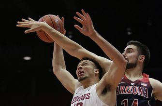 Trier, Ayton lead No. 9 Arizona over Washington State 100-72 (Jan 31, 2018)
