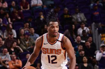 Canaan hurt but Suns stop skid with 102-88 win over Mavs (Jan 31, 2018)