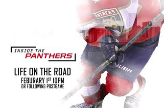 'Inside the Panthers: Life on the Road' premieres Feb. 1 on FOX Sports Florida