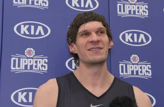 LA Clippers: Boban Marjanovic on 'new experience' in Los Angeles
