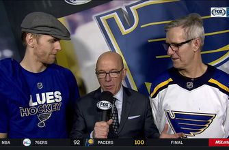 'Boom Boom' Gunnarsson on scoring in front of his dad: 'You can't draw that up any better'