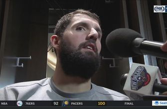 Nikola Mirotic on playing in first game with Pelicans, loss to Minnesota