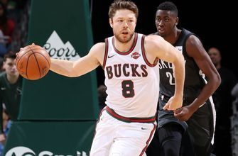 Bucks' Dellavedova out for up to 4 weeks with sprained ankle