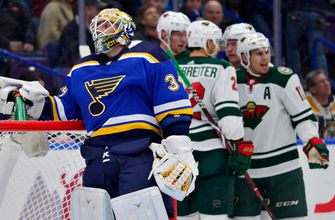 Blues get dominated in 6-2 loss to Wild