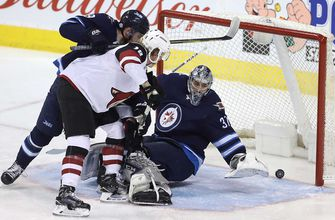 Coyotes' losing streak reaches 4 with 4-3 loss to Jets