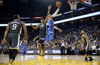 Westbrook, George dominate, lead Thunder to rout of Durant, Warriors