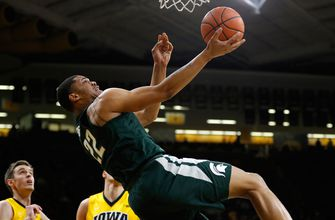 Michigan State fends off pesky Iowa 96-93