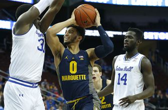 Howard's 32 points lead Marquette over Seton Hall 88-85