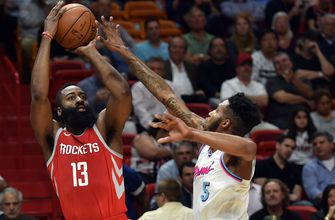 Josh Richardson's 30 points not enough to overcome Rockets as Heat drop 5th straight