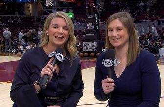 Allie Clifton, Lindsay Whalen on expanding role of women in NBA broadcasting