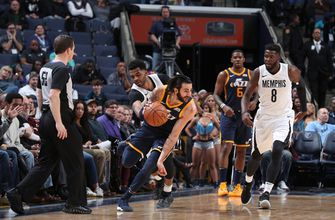 Rubio, Hood lead Jazz over Grizzlies 92-88 for 7th straight