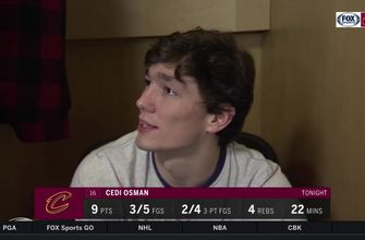Cedi Osman: 'When we're playing fast, we're unstoppable'
