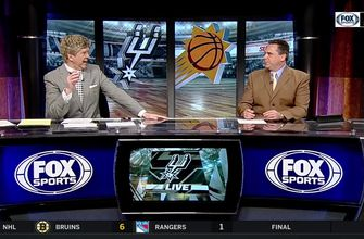 Getting It Done from PG Position vs. Suns | Spurs Live