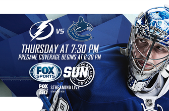 Preview: Lightning return home from grueling road trip, face Canucks