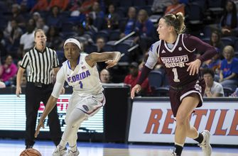 Johnson scores 22, No. 2 Miss State handles Florida 98-50