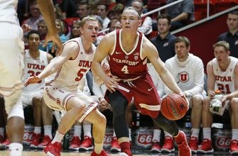 Bibbins scores 18, leads Utah to 75-60 win over Stanford