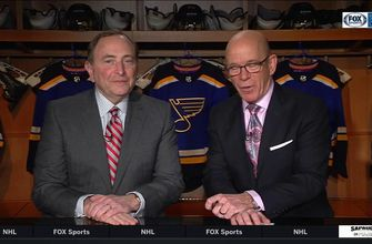 NHL Commissioner Gary Bettman on All-Star Game in St. Louis and goalie interference