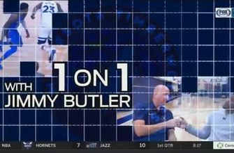 1 on 1 with Wolves star Jimmy Butler