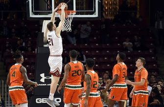 Miami can't hold off late rally in upset loss to Boston College