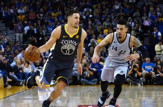 Thompson leads way in third quarter as Warriors beat Spurs
